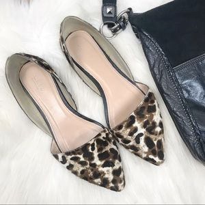 J. CREW COLLECTION Sloan D'Orsay Flat in Leopard